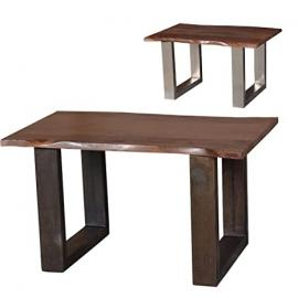 "'Coffee Table ""Costa Coffee Table Made of Solid Wood – 2 Colours – Formfrei – Acacia Wood – Sofa Table – Solid wood – Wooden Table –"