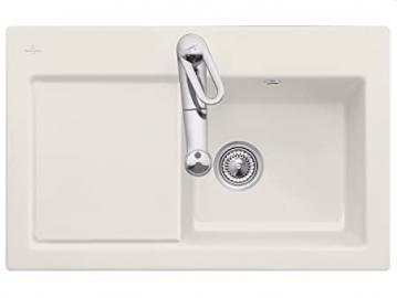 Villeroy Boch Subway 45 &Cream Beige Ceramic Sink Kitchen Sink Einbau