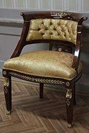 baroque chair rococo antique style MoCh01112