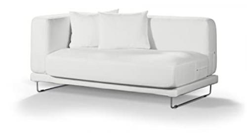 Dekoria Fire Retarding Ikea Tylösand 2-seater sofa cover - soft white (warm shade)