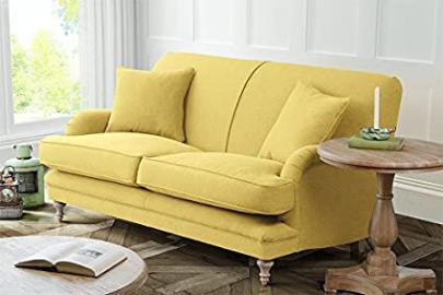 Madelein 2 seat sofa Malaga Mustard