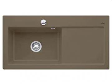 Villeroy Boch Subway 60 &XL Timber Brown Ceramic Sink Kitchen Sink Fitting