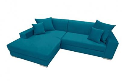 MEXICO Corner Sofa Bed * Brand New * Modern Design * BLUE
