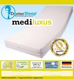 Mail2Mail Confort 7-zone cold foam core mattress 120 x 200 x 16.5 CM, firmness level: H2 (HR45 Medipur Cover)