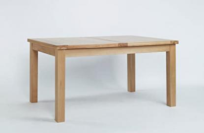 SHERWOOD OAK LARGE EXTENDING DINING TABLE (132cm-198cm)