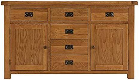 Hagley Dining 2 Door 6 Drawer Sideboard Wooden