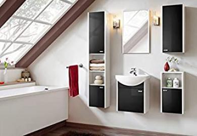 Bathroom Colorado Black Bathroom Furniture Set Bathroom Sink Vanity 01239