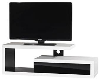 Ateca Graphique Black and White TV Stand For up to 50 inch TVs