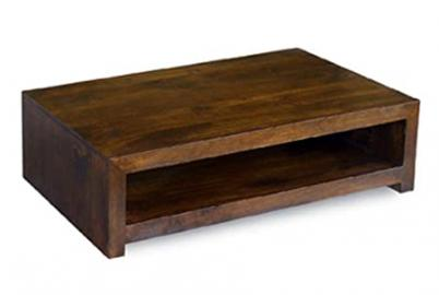 Dakota Contemporary Coffee Table Constructed from 100% Real Mango Wood