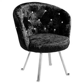 Group Tiffany Leisure Chair, 72 x 68 x 82.5 cm, Black