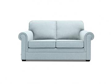 JAY-BE Classic Pocket Sprung Sofa Bed in Luxury Fabric - Duck Egg