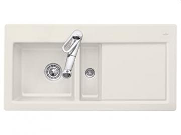 Villeroy Boch Subway 60 &Cream Beige Cushion-Sink Kitchen Sink Ceramic Spule