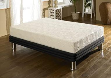 Happy Beds Stress Free 10000 Memory Foam Orthopaedic Mattress - Double