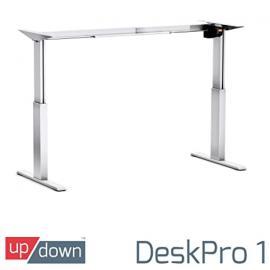 Up/Down DeskPro 1 [ FRAME ONLY ] [SILVER]