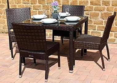 Marbella 90 Outdoor Dining Set