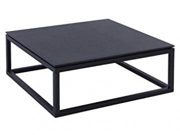 Modern Contemporary Wenge Square Coffee Table - Cordoba