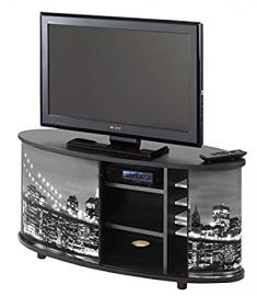 TV Stand – New York – Brooklyn Bridge – Black