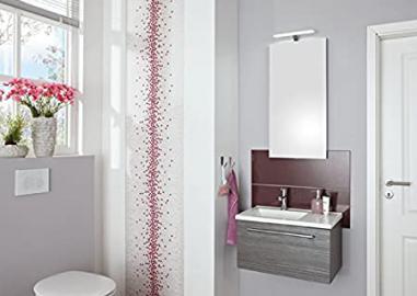 Puris For Guests Bathroom Furniture Set Washbasin / Cupboard / LED Lighting