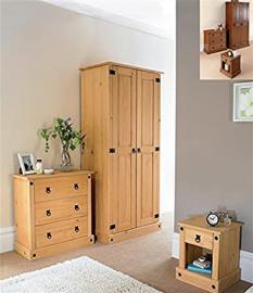 Greenheart Furniture (UK and Ireland) Corona Bedroom Set.