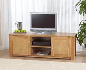 Windsor oak living room furniture TV stand unit cabinet