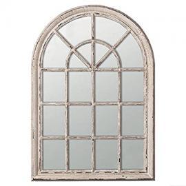 Heligan Arched Window Wall Mirror,W100 x H150cm