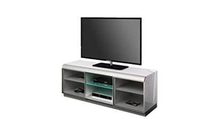 Triskom TV Cabinet for LCD, LED or Plasma Screens 37,40,42,46,47,50,52, 55, 60 inch by SAMSUNG, LG, SONY, PHILIPS, TOSHIBA, PANASONIC, JVC. (White Gloss)