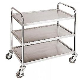 3-Tier Trolley S/Steel