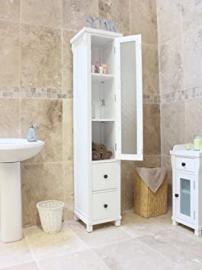 Hartford Painted furniture Closed Bathroom Unit Tall