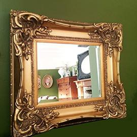 "Gold Gilt Monte Carlo Mirror (2ft 8"" x 2ft 4"")"
