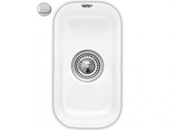 Villeroy & Boch 26 White Ceramic Sink Countertop Basin Cisterna Snow White Kitchen
