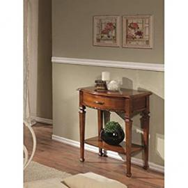 1Drawer Wooden Console Table with Walnut Finish Bassano–codluis 906