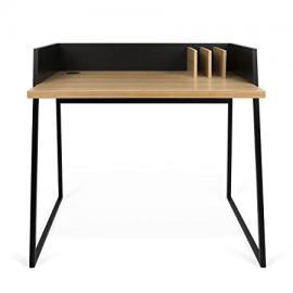 TemaHome Wood Volga Desk Quercia Nero