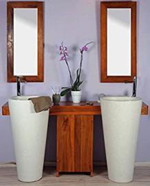 saniteck France-Room Bath Teak 140Cleopatra White Door
