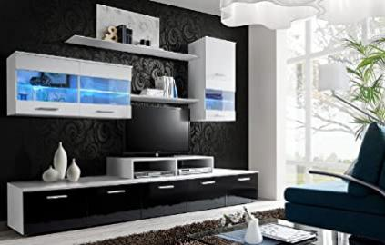 """ LOGO II BLACK "" / TV CABINETS / TV STANDS / TV DISPLAY UNIT / ENTERTAINMENT"
