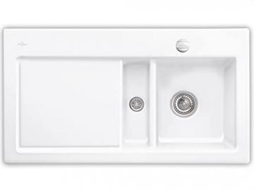 Villeroy Boch Subway 50 &Edelweiss Ceramic Sink Kitchen Sink White