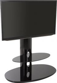 AVF Chepstow Black TV Stand with Bracket for up to 50 inch