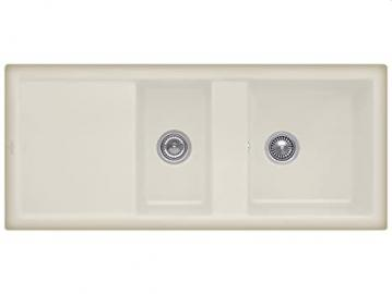 Villeroy Boch Subway & 80 Cappuccino Beige Installation Ceramic Sinks Inset Mounting