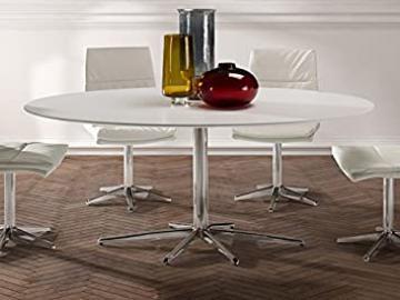 ·ATLANTA· WHITE DINING TABLE