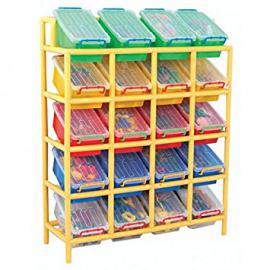 20 Bin Tilt Storage