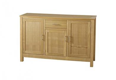 Seconique Oakleigh 3 Door 1 Drawer Sideboard