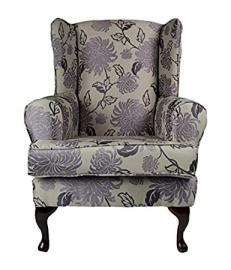 Cavendish Furniture Luxury Orthopaedic High Seat Chair, Fabric, Charcoal, 21-Inch