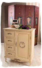 Chest of Drawers Shabby Chic Cabinet Country Style Palazzo Exclusive