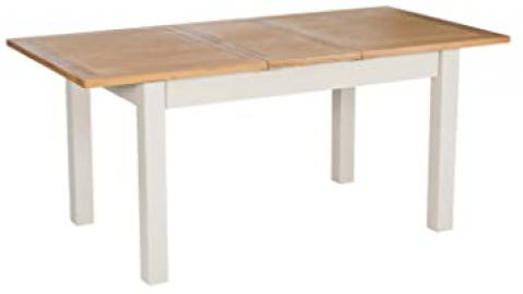 Portland Painted Oak Extending Dining Table