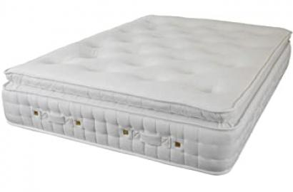 Pillow Top 5000 Pocket Spring & Latex Mattress. 4ft6 Double Pocket Sprung Matress. (5ft King)