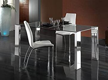DINING TABLE · · STEEL 180x90cm LARA