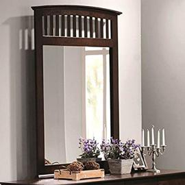 Coaster Home Furnishings 202084 Casual Contemporary Mirror, Cappuccino by Coaster Home Furnishings