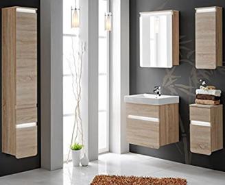 Bathroom furniture set Bath furniture Stella 60 cm with Washbasin LED Light