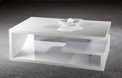 Design Couch / Coffee Table Cube Florence High Gloss for Living Room