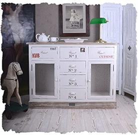 Shabby Chic Chest of Drawers Sideboard Cabinet White Palazzo Exclusive