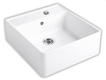 Villeroy & Boch Sink/Single Bowl Sink/Single Bowl Snow White Ceramicplus
